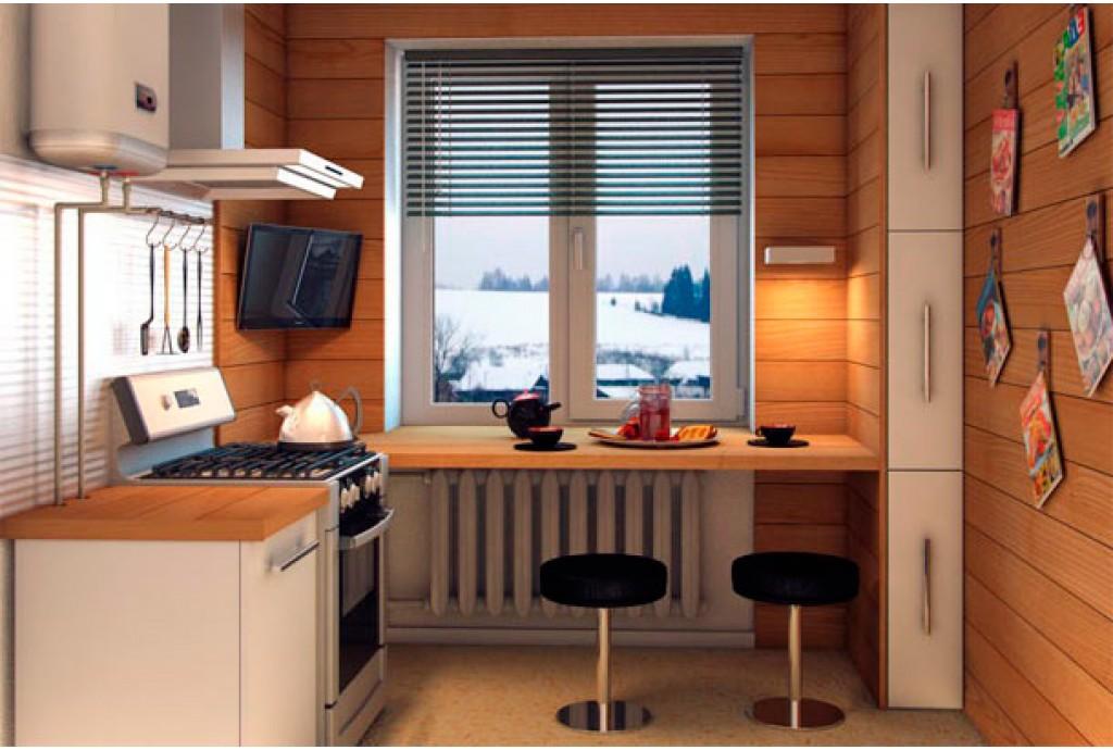 Идеи дизайна на маленьких кухнях